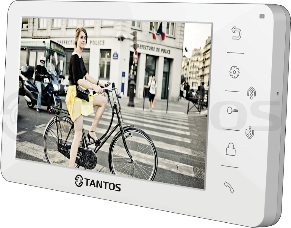 Tantos Amelie HD (White) монитор видеодомофона